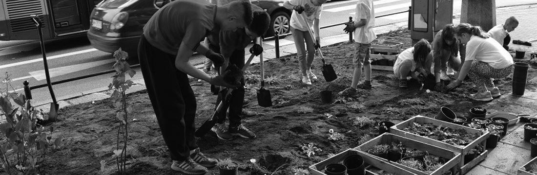 warsztaty społeczne zorganizowanie prze Fundację Łąka