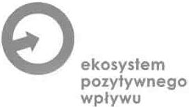 logo ekosystem pozytywnego wpływu